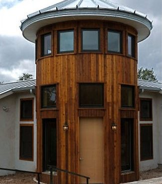 CorGal 18ft Roof on Wood Building Entry