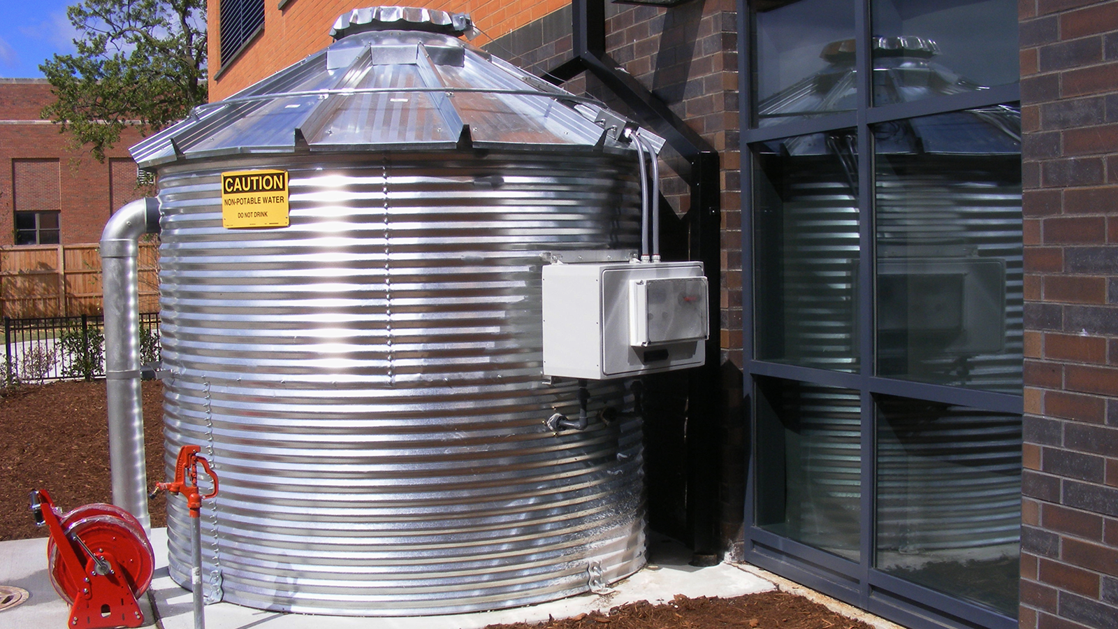 Fire Protection Water Tank Boone Clinton CorGal-0802 & Fire Protection Water Tank Boone Clinton CorGal-0802 u2013 Water Storage ...