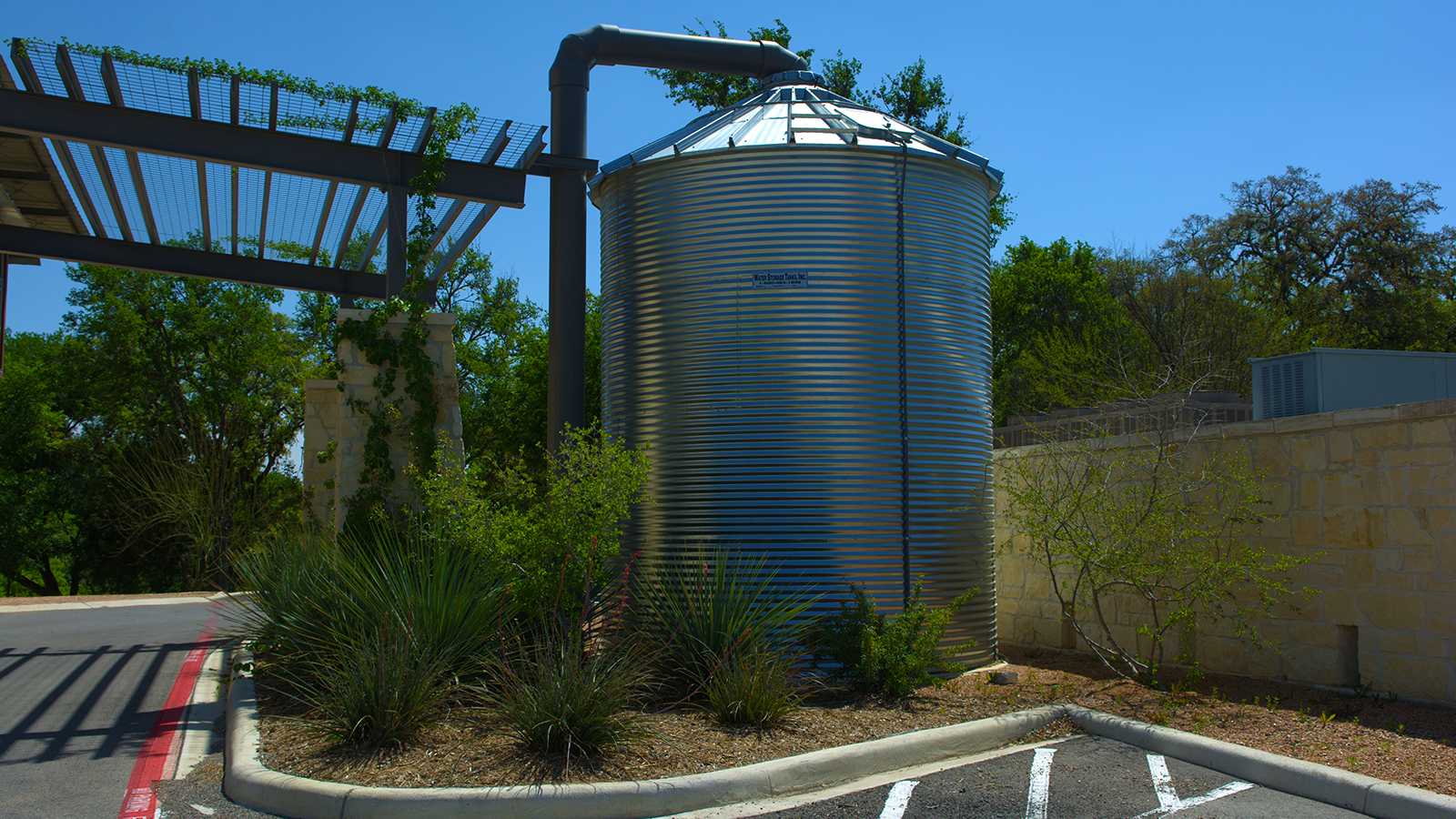 Irrigation Water Tank Patrick Health Library CorGal-1204