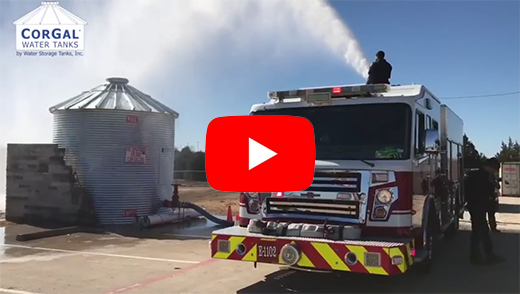 CorGal Fire Tank Testing Video